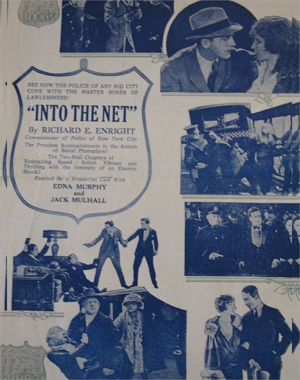 old movie flyer