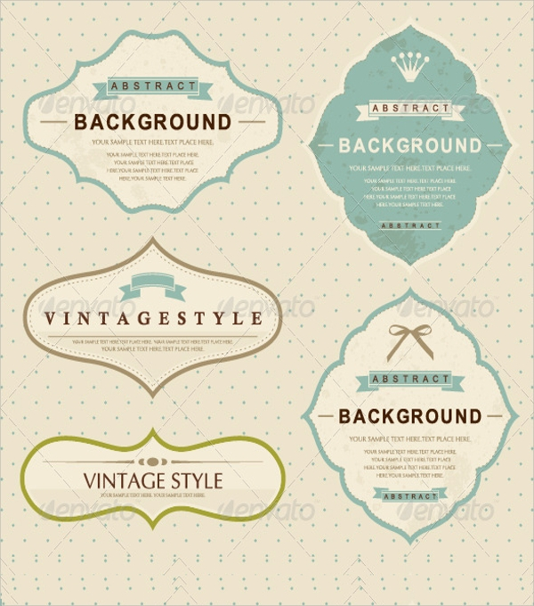 20+ Label Template - PSD, Vector EPS