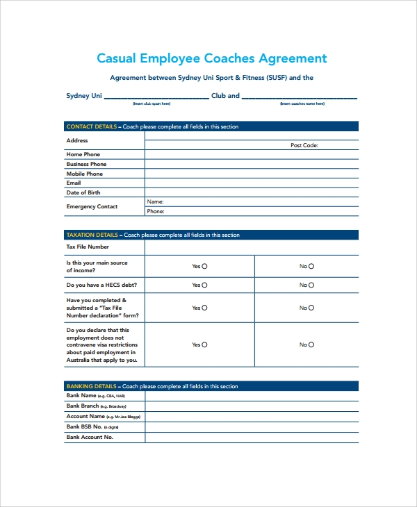casual employee coaches agreement1
