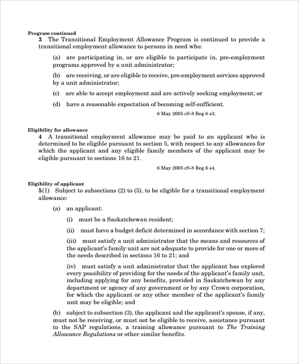 Sample Individual Employment Agreement   Documents In Pdf Words