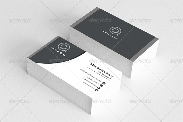 visiting card template psd