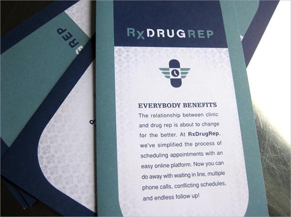 8  drug brochures