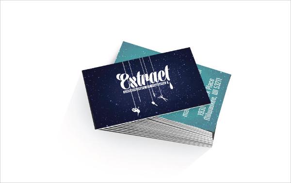 custom business or event card