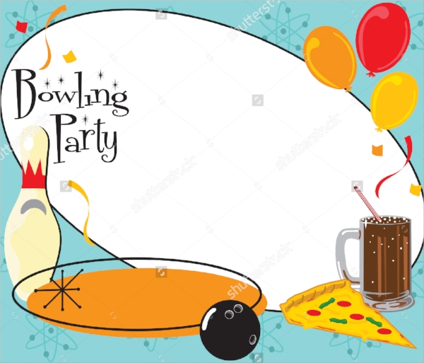 Bowling Party Invitation Template  DiabetesmangInfo