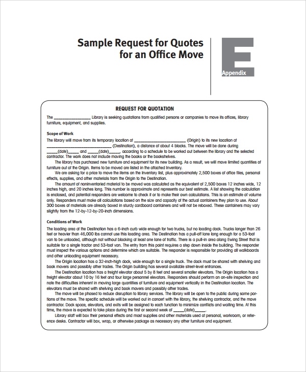 Sample Building Quote - 6+ Documents In Pdf