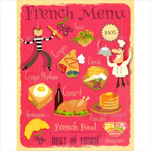 10+ French Menu Templates - Psd, Vector Eps