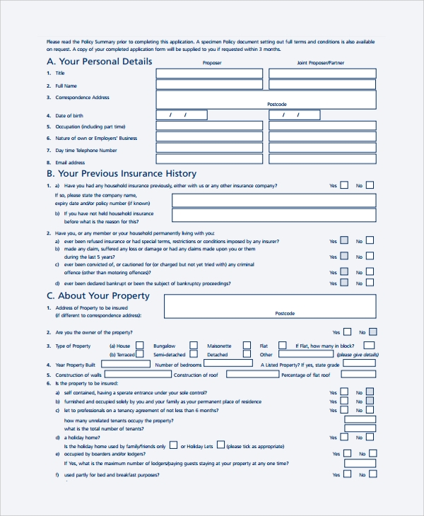 Proposal Form Project Proposal Form Template Sample Proposal Form