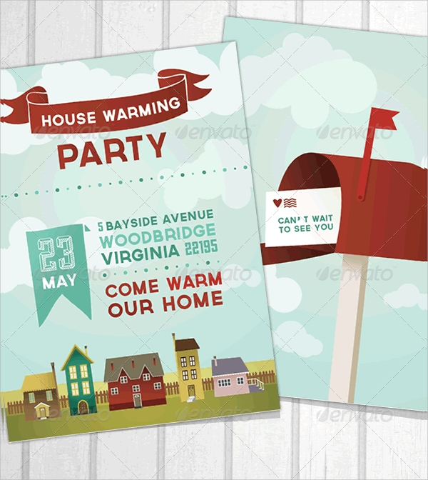 19 Housewarming Invitation Templates Psd Vector Eps