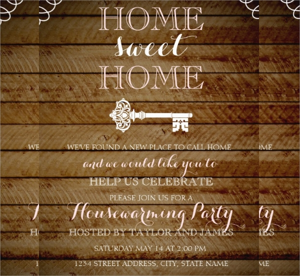Housewarming Invitation Templates  Psd Vector Eps