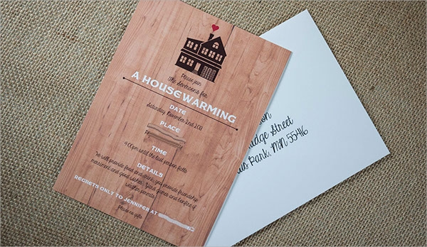 beautiful housewarming invitation
