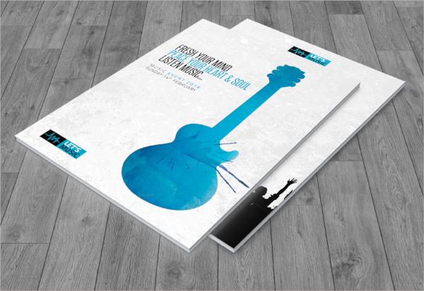 music festival brochure template