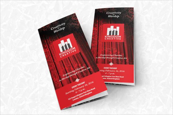 creative music brochure