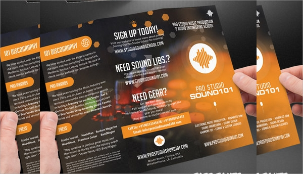 Music Brochures  Psd Vector Eps