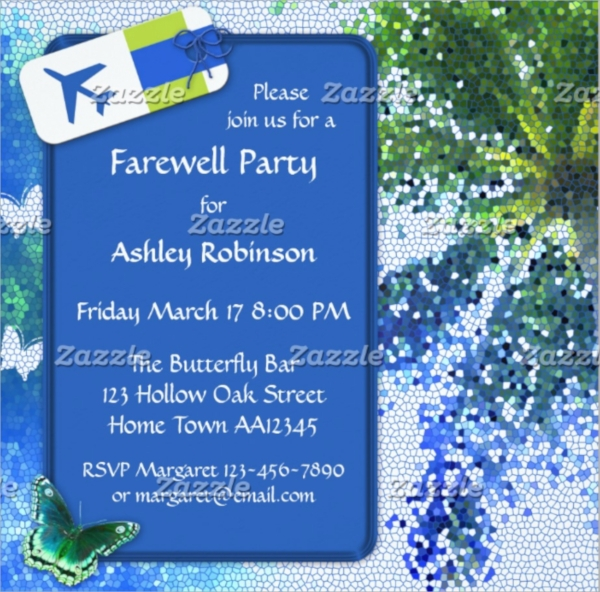 Farewell Party Invitation Template - Psd, Vector Eps