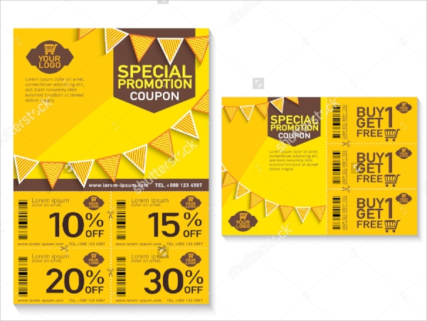 Design your coupon in 5 easy steps.