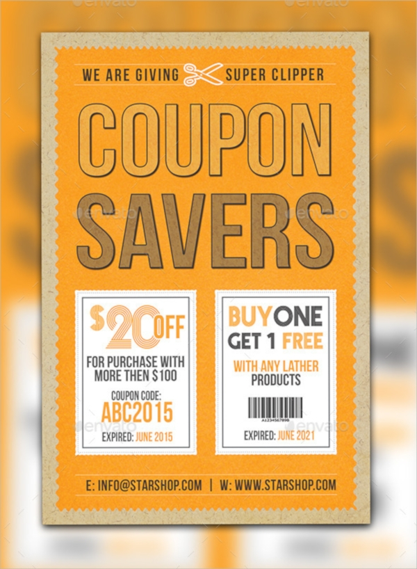 Charming Printable Coupon Flyer Template Within Coupon Flyer Template