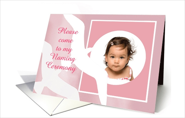 free naming ceremony invitation
