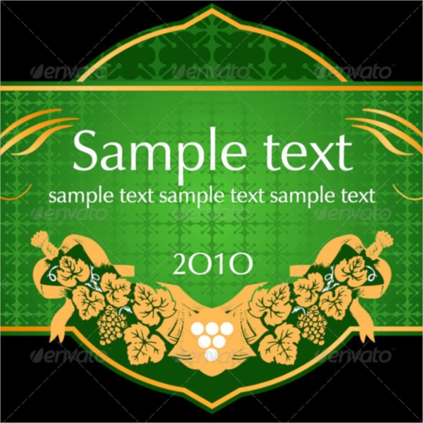 20 Product Label Templates PSD Vector EPS – Product Label Sample