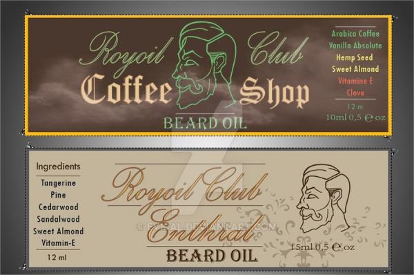 royal club product label