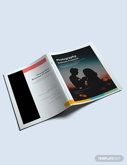 free photography business proposal template