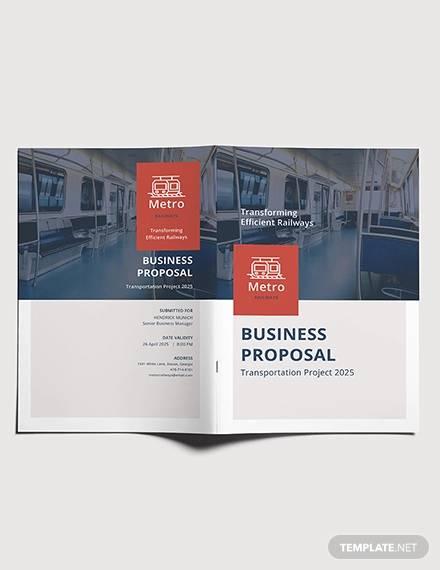 free transportation business proposal template