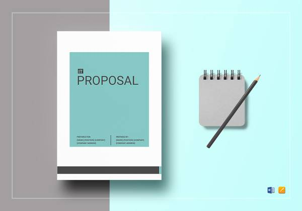 it proposal template in word