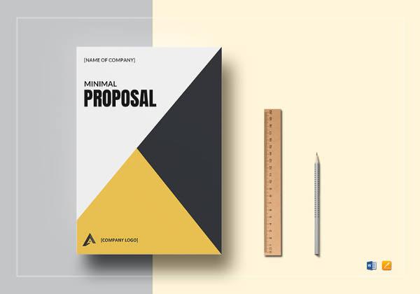 minimal proposal templat