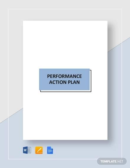 performance action plan