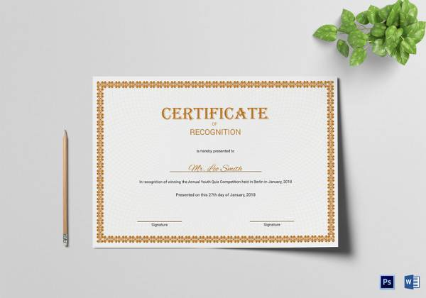 33 psd certificate templates psd free formats download