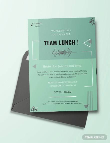 19  lunch invitations