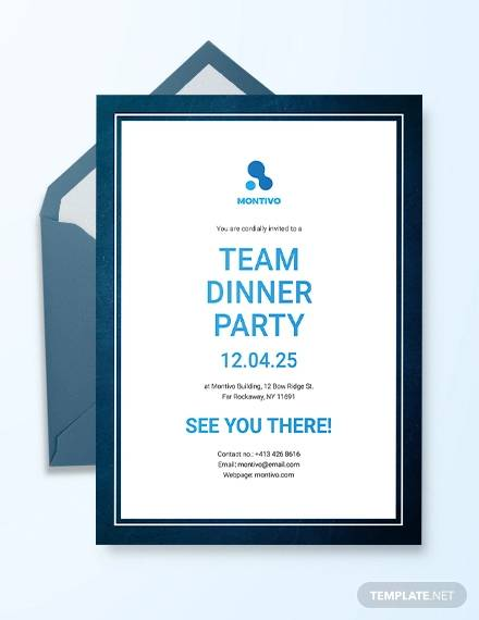 33 Dinner Invitation Templates Psd Vector Eps Word