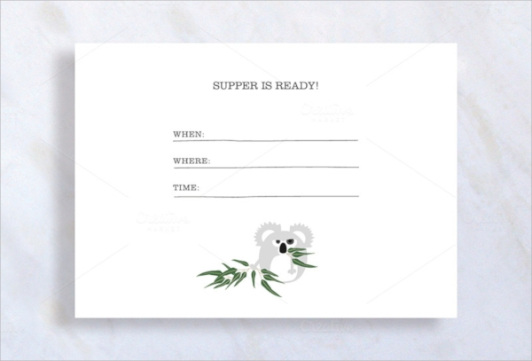 FREE 33+ Dinner Invitation Templates in PSD | EPS | MS Word | AI ...