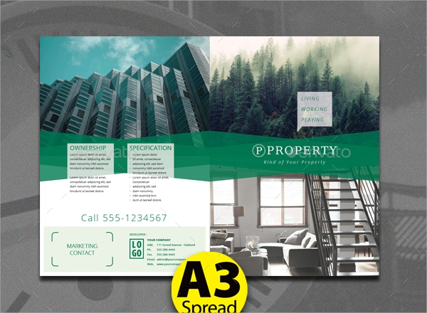 Property Brochures  Psd Vector Eps