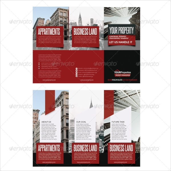 editable property brochure