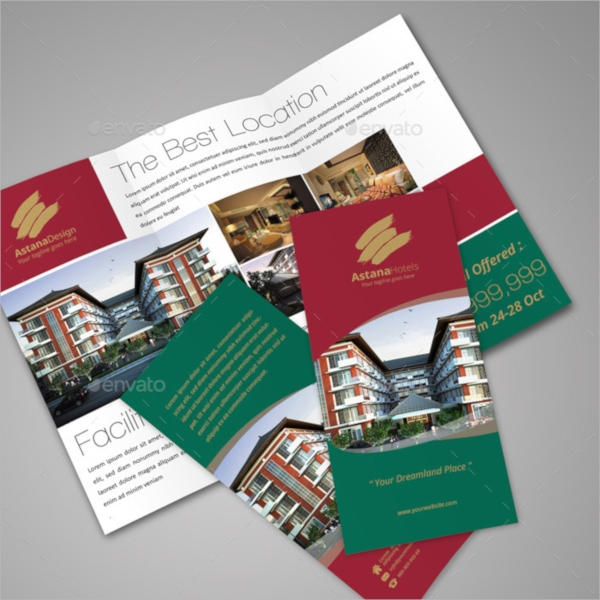 layered property brochure
