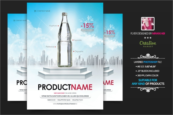 Product Flyers  Psd Vector Eps