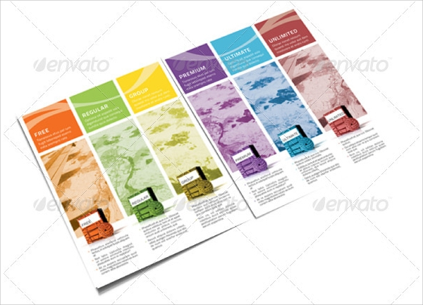 18 product brochures psd vector eps for Product brochure template