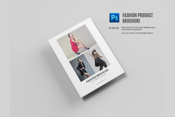 fashion product brochure