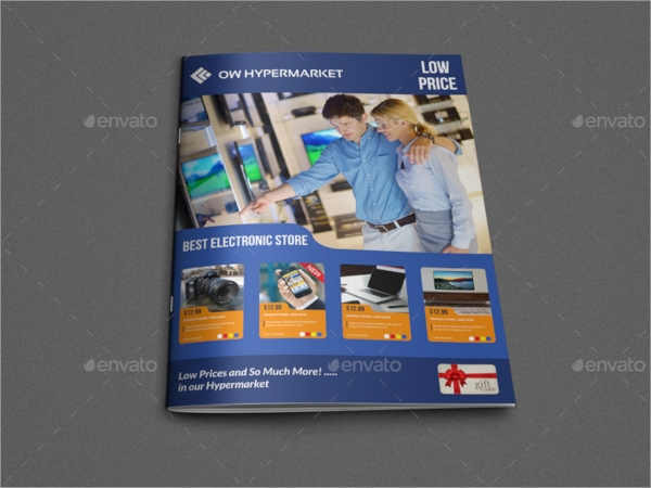 electronic product brochure template