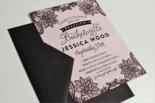 free bachelorette party invitation template