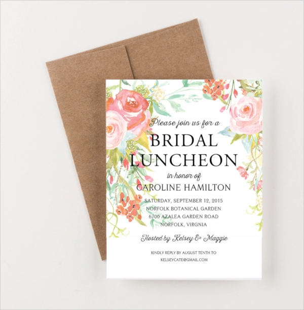 19+ Lunch Invitations