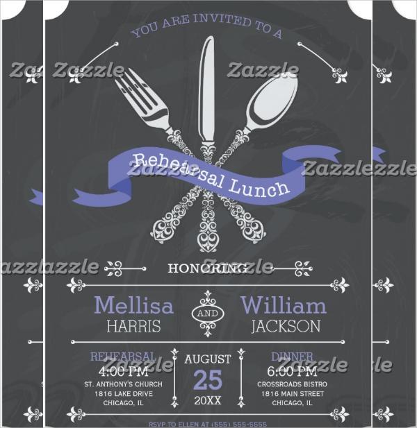 19 Lunch Invitations
