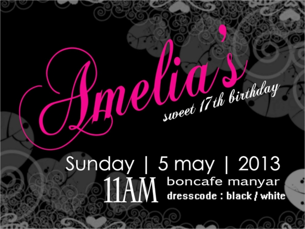 party lunch invitation