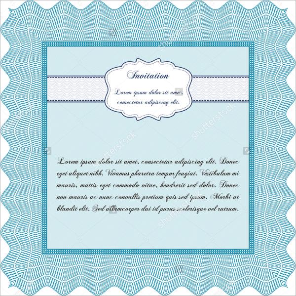 sample formal invitation