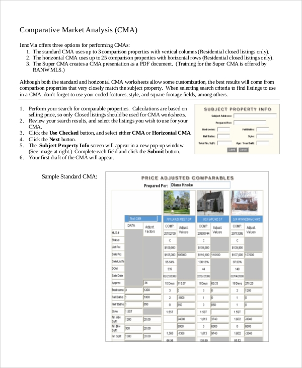 Sample Market Analysis - 7+ Documents In Word, Pdf