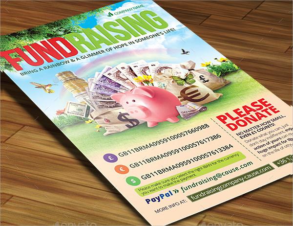 fundraiser invitation flyer design