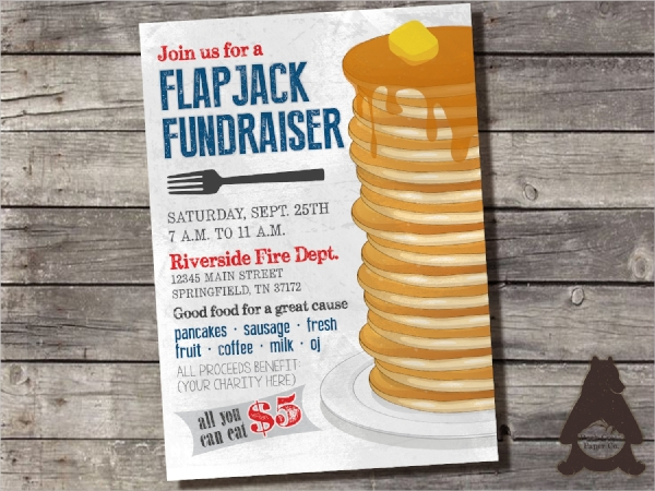 printable fundraiser invitation