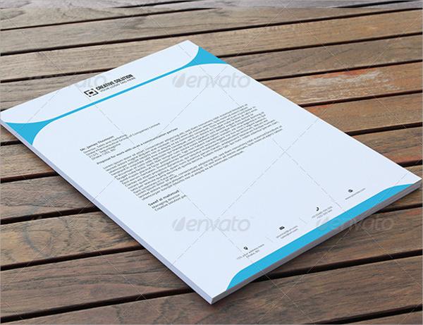 professional letterhead pad