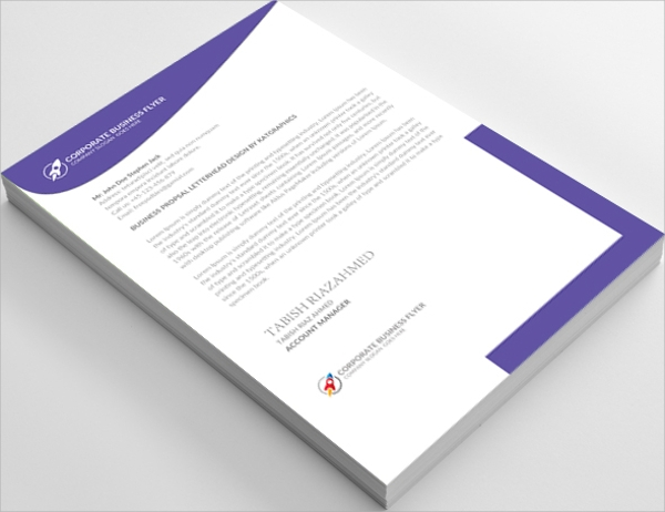 professional insurance consulting letterhead