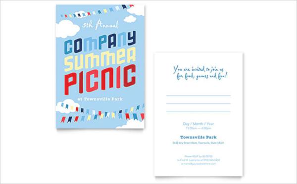 company picnic invitation template